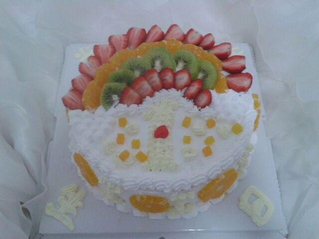 宝宝一岁生日蛋糕