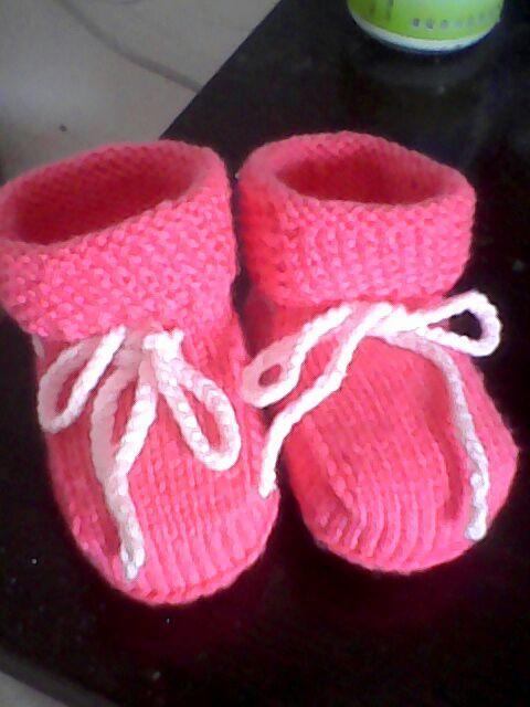 最近钩织的宝宝鞋