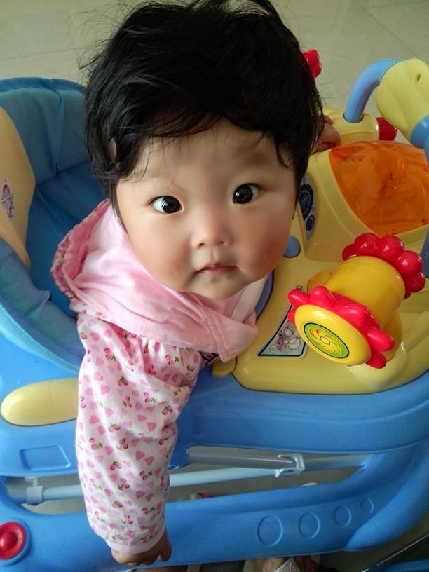 宝宝的发型_0-1岁宝宝圈