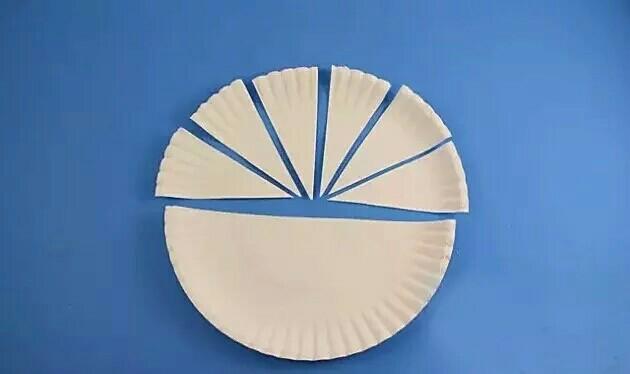 也可以用纸盘制作,剪成三角形,用针固定好,翅膀扑哧扑哧的,相当可爱哦