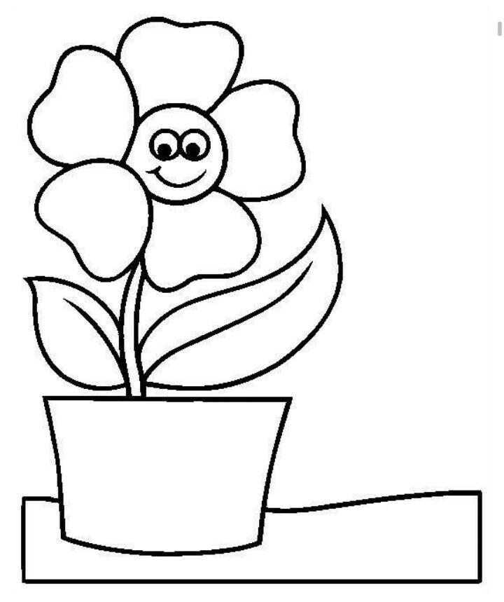 幼儿简笔画 花朵 简笔画