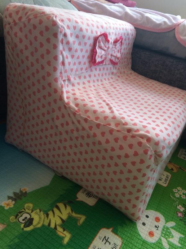 用奶粉桶做的小沙发_巧手diy圈