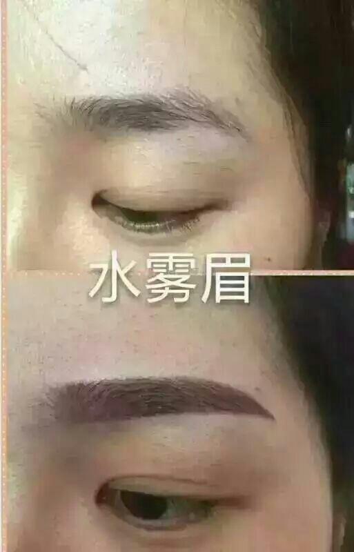 纹眉和绣眉,飘眉的区别