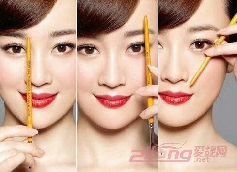 韩式一字眉毛的画法,手残也能修出好看眉毛~~~~!