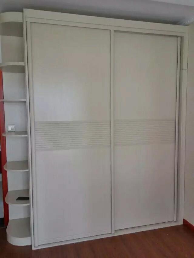 两门推衣柜内部结构图