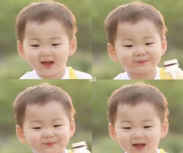 快看,我儿子像不像韩国小网红-宋民国