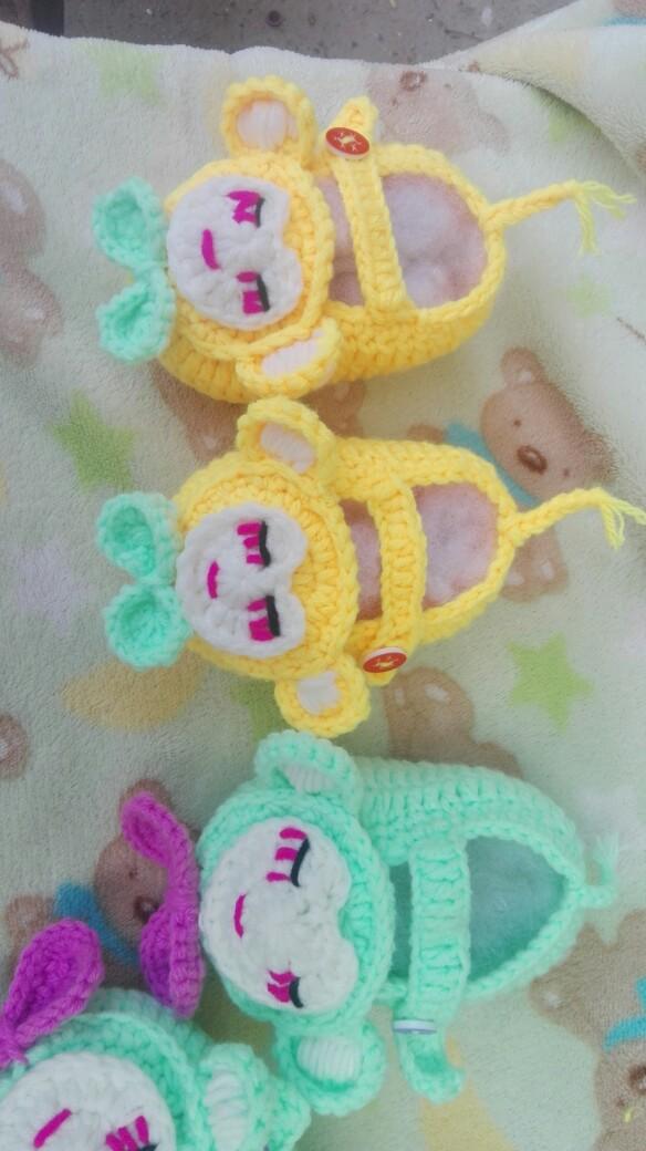 萌萌哒的小猴子宝宝鞋