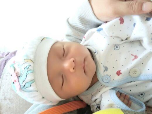 宝宝好累可爱图片