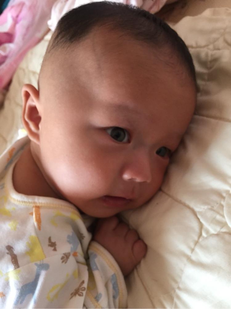 我儿子还不会抬头_0-1岁宝宝圈