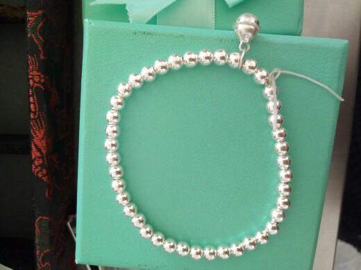 纯银珠子DIY