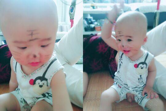 可爱3岁宝宝图片