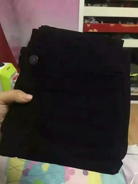 新买的加绒魔术裤