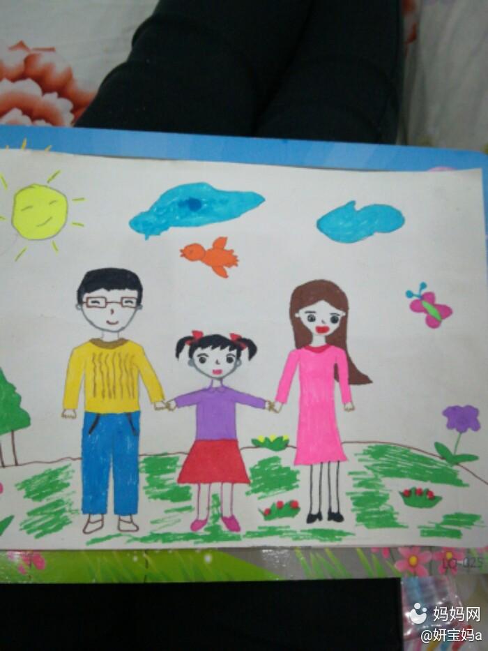 幼儿园孩子比赛画画图片