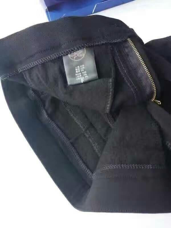 加绒魔术裤,黑白两色