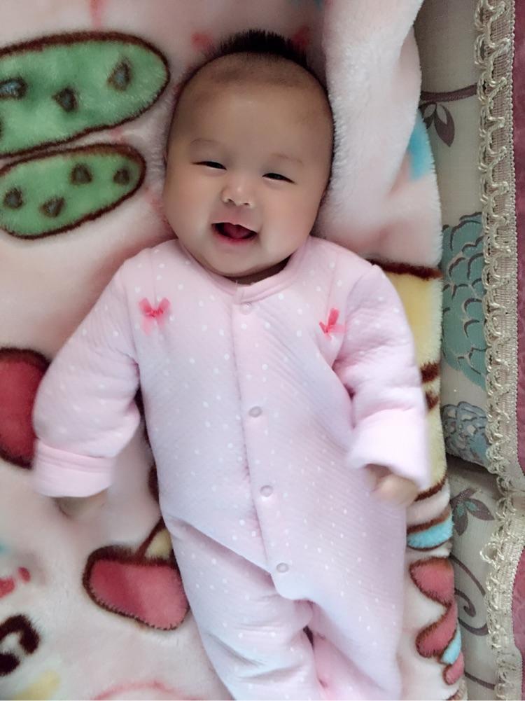 我家宝宝超爱笑
