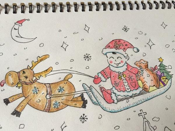 今年让可爱的小圣诞 老人 给大家派发礼物可好