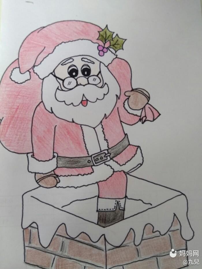 【圣诞一起嗨】圣诞老人爬烟筒来给宝宝送礼物咯