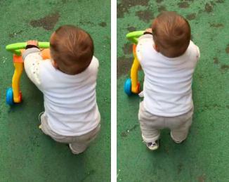 当宝宝能够自己坐马桶大便了后