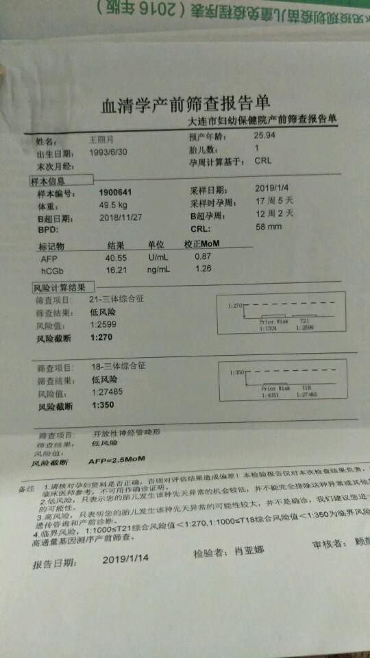 唐氏筛�Lzhny�+K�K��_唐氏筛查顺利通过