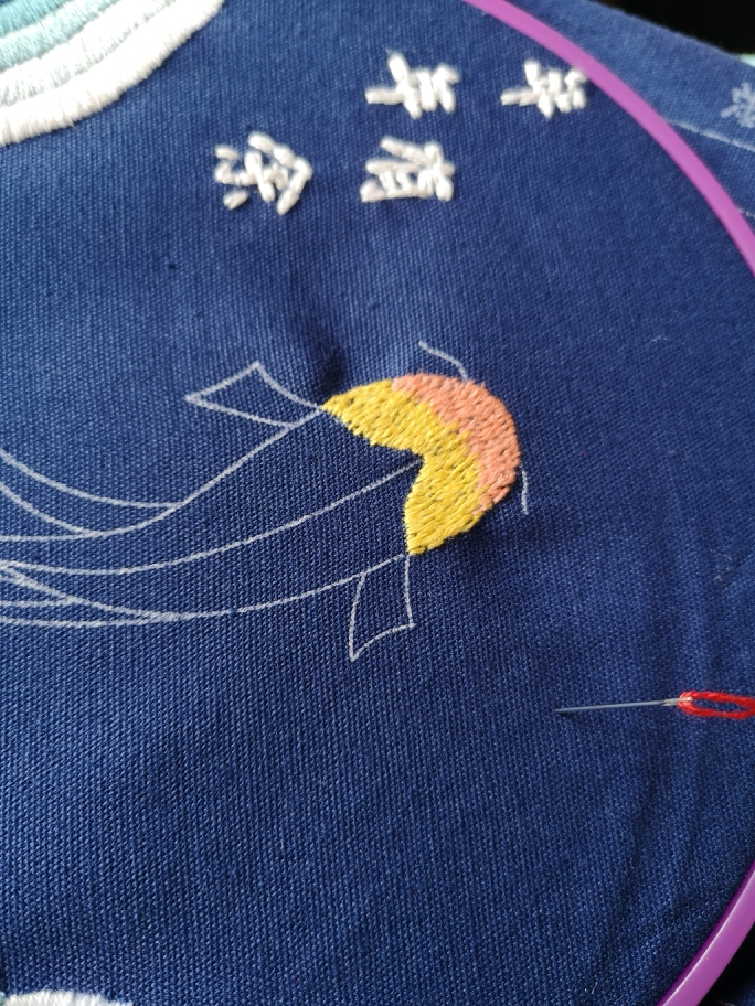 锦鲤图片手绘线图