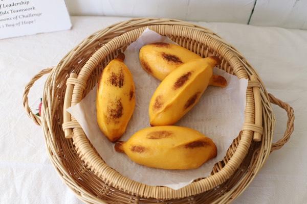 外形漂亮制作简单超级好吃的香蕉馒头,香甜蓬软,全家人都爱吃!