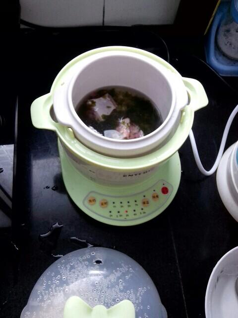 补铁辅食 简单做海带排骨软饭,从稀饭蜕变成软