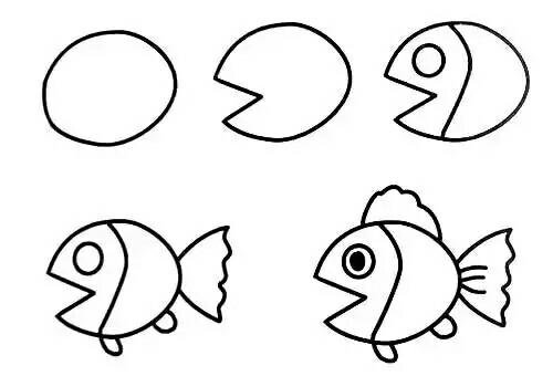 教孩子画各种动物 - 老男孩 - 老男孩
