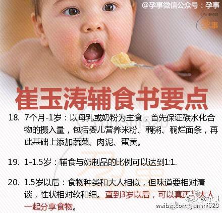 崔玉涛辅食书:宝宝辅食添加的要点_0-1岁宝宝