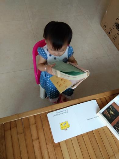 我是怎样做到让一岁半的女儿不仅喜欢看书,而