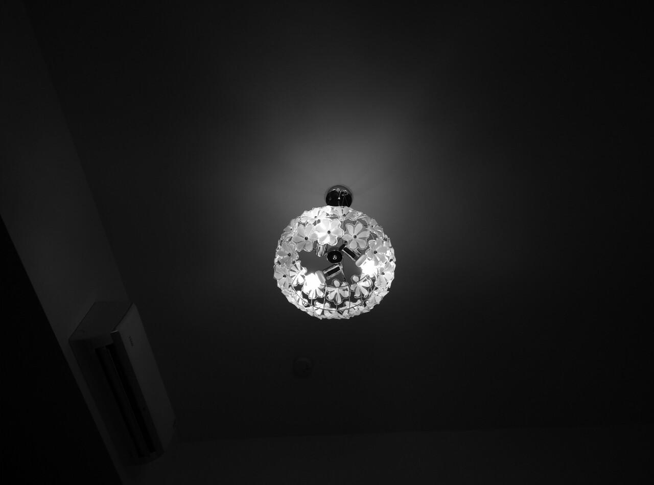 台湾/房间里的灯,好美~