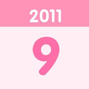 生日2011年09月一分PK10圈
